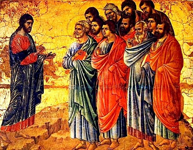 Përhapja e Krishtërimit - Krishti me Apostujt
