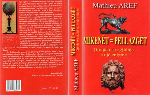 Mathieu Aref - Mikenët - Pellazgët