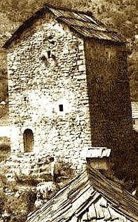 Kulla e Thepit, në Curraj Epër