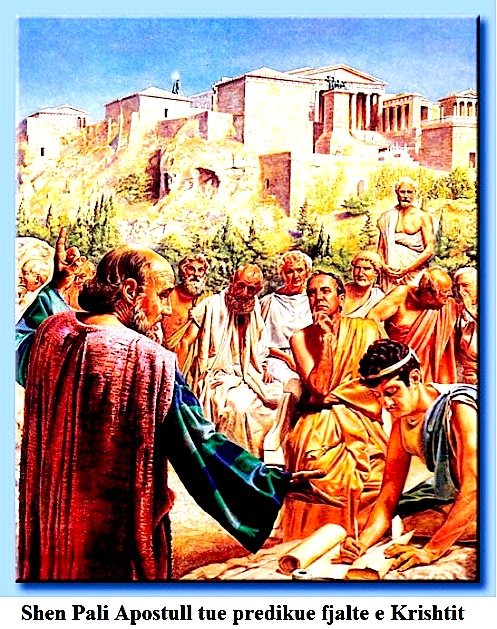Shën Pali predikon fenë e Krishterë në Illyri