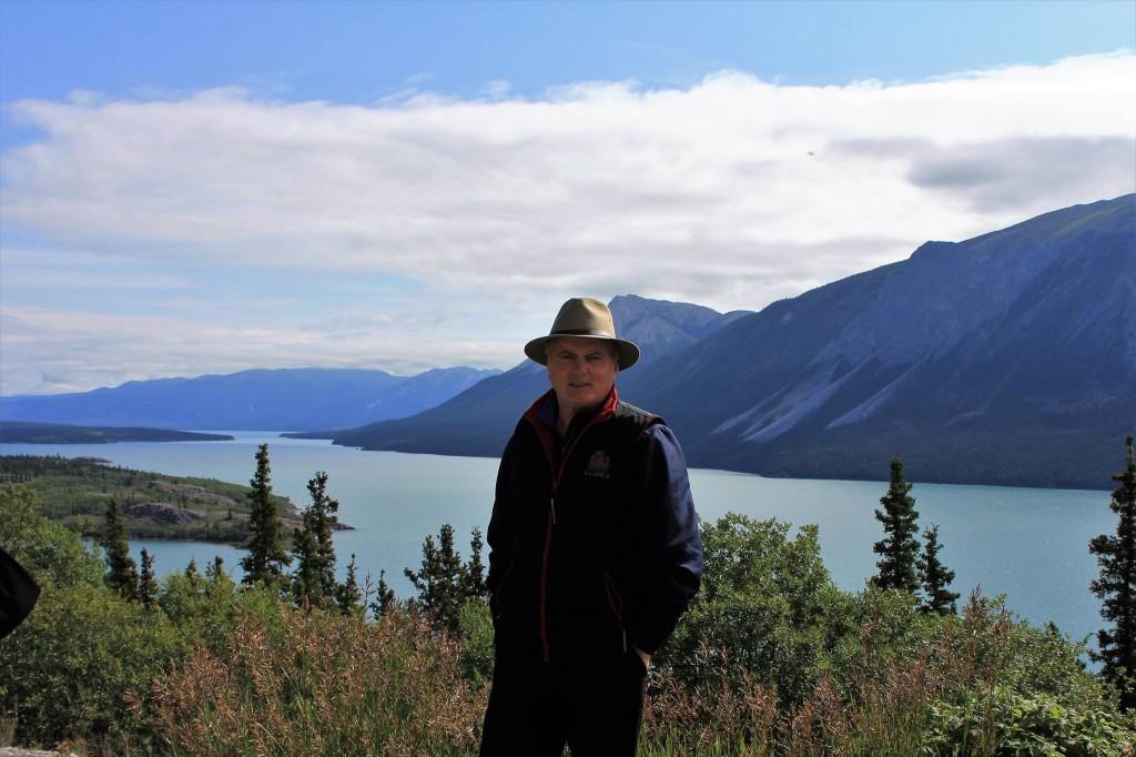 Avis Gjyshja në Tagish Lake - Skagway 2017