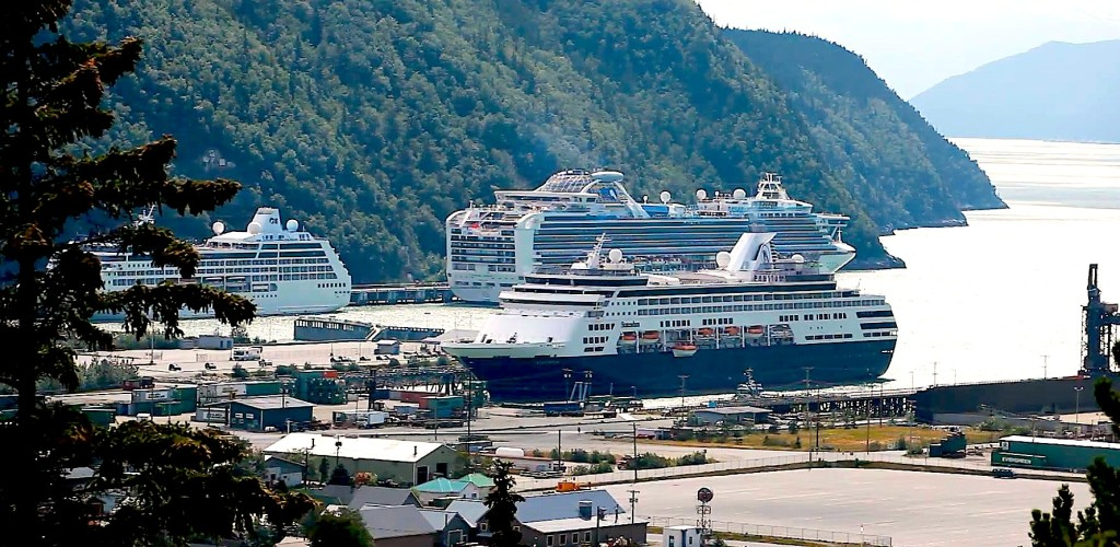 Skagway - Pamja e portit