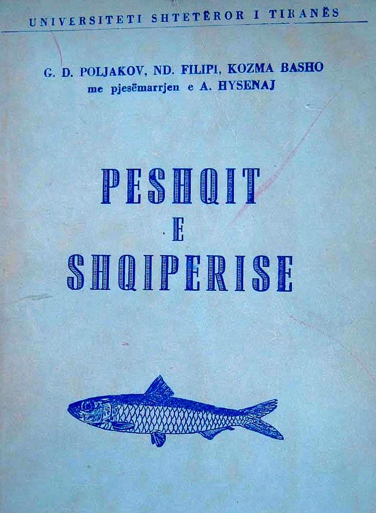 Vepra Studimore - Peshqit e Shqipërisë