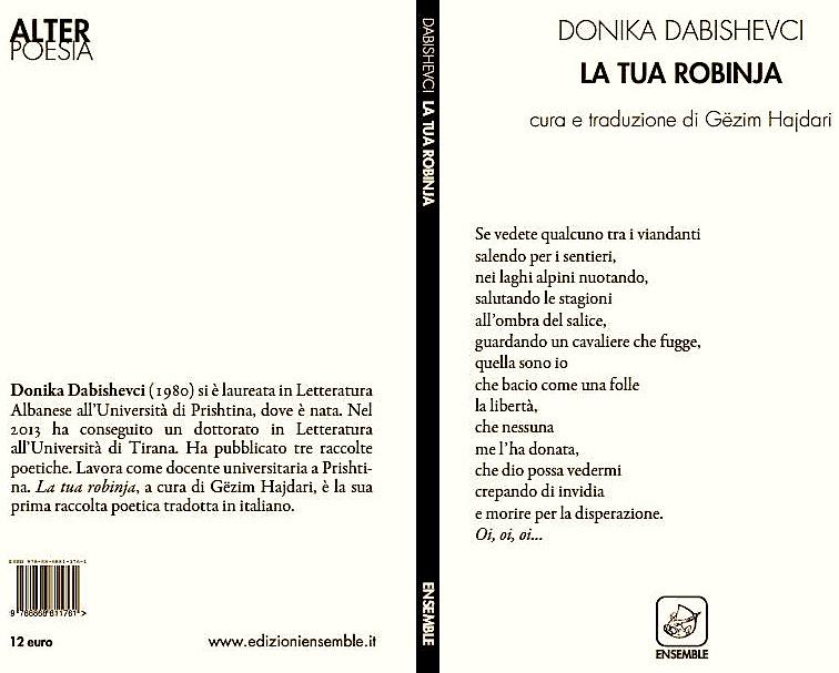 Donika Dabishevci - La tua Robinja  - Ensemble Editore