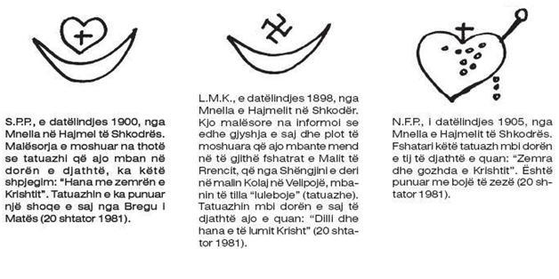 Tre simbole Tatu (f)