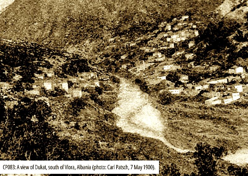 Fshati Dukat (foto e vitit 1900)