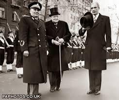 Winston Churchill & Josip Broz Tito