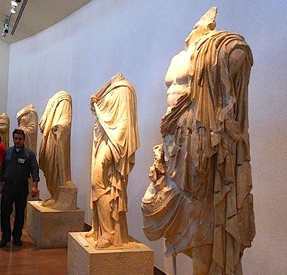 Statuja në Muzeun Arkeologjik