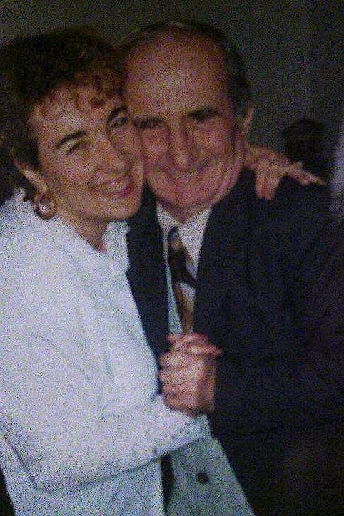 Mimoza Leskaj dhe i ati i saj...