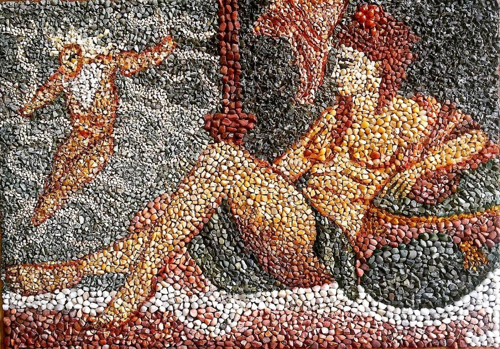 Danae - Mozaik nga Erieta Koliqi - Gajtani