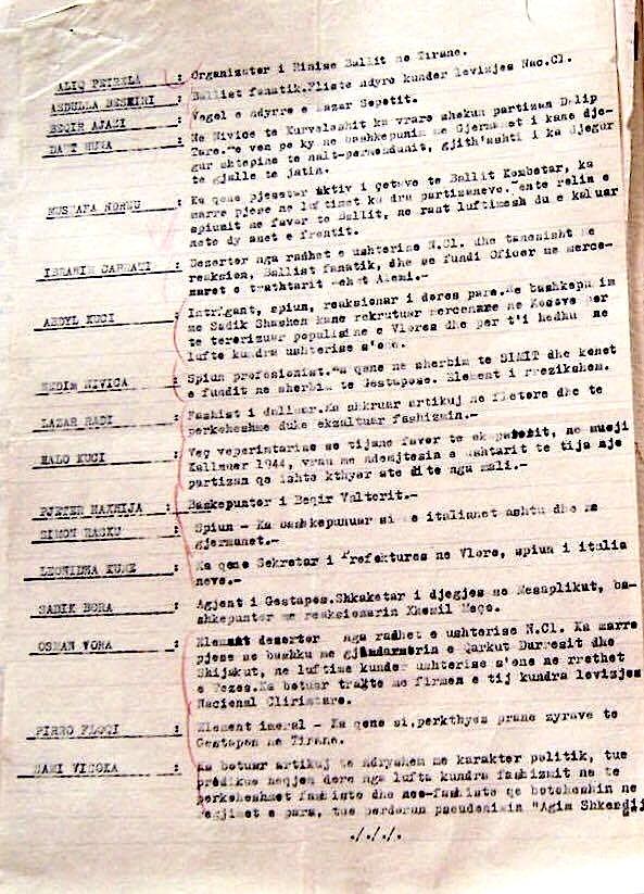 Material mbi të cilën u ngritën akuzat mbi Lazër Radin, në Gjyqin Special (b)
