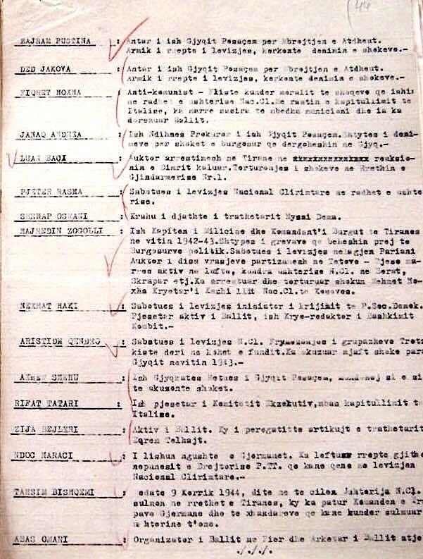 Material mbi të cilën u ngritën akuzat mbi Lazër Radin, në Gjyqin Special (c)