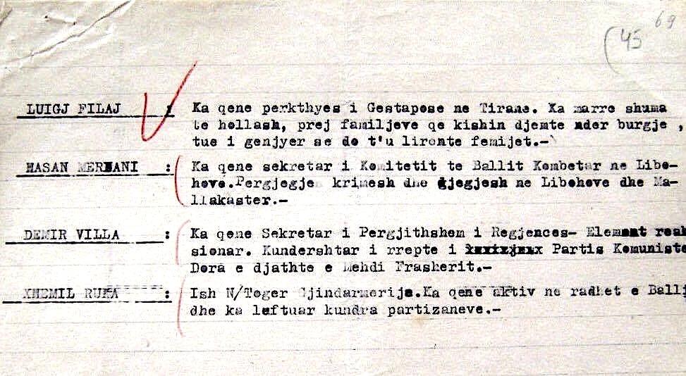 Material mbi të cilën u ngritën akuzat mbi Lazër Radin, në Gjyqin Special (d)