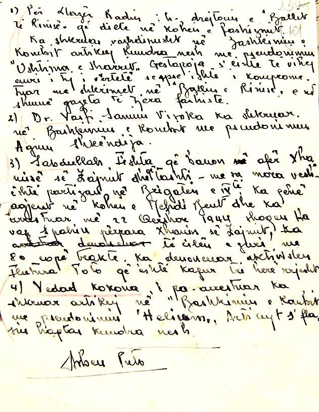 Material mbi të cilën u ngritën akuzat mbi Lazër Radin, në Gjyqin Special (f)