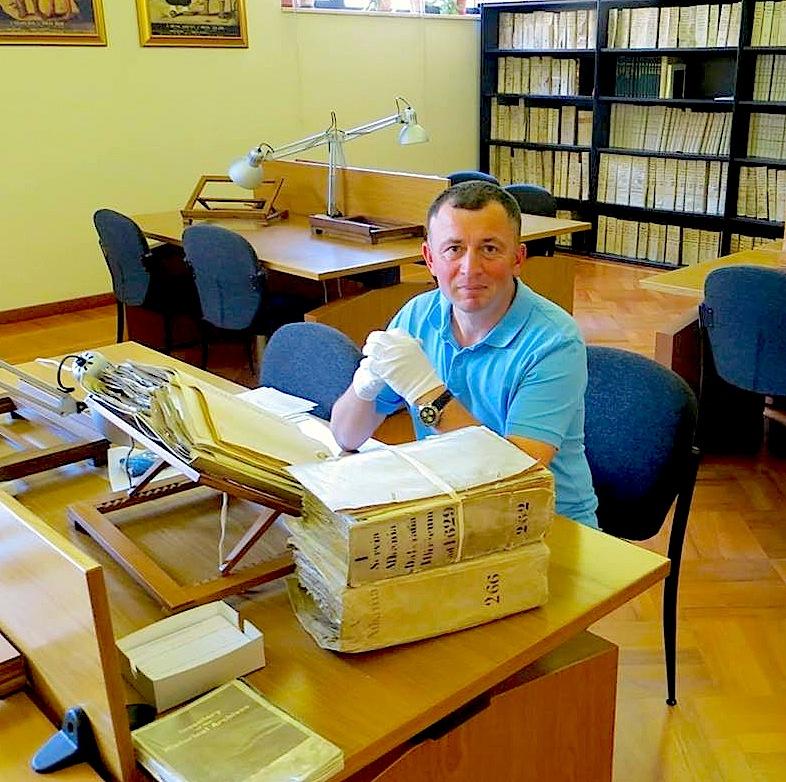 Kastriot Marku - në Archivin Historik të Propagandës Fide - Vatikan