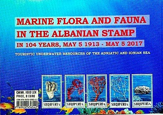 Flora dhe Fauna Detare, në 104 vite në pullën Shqiptare