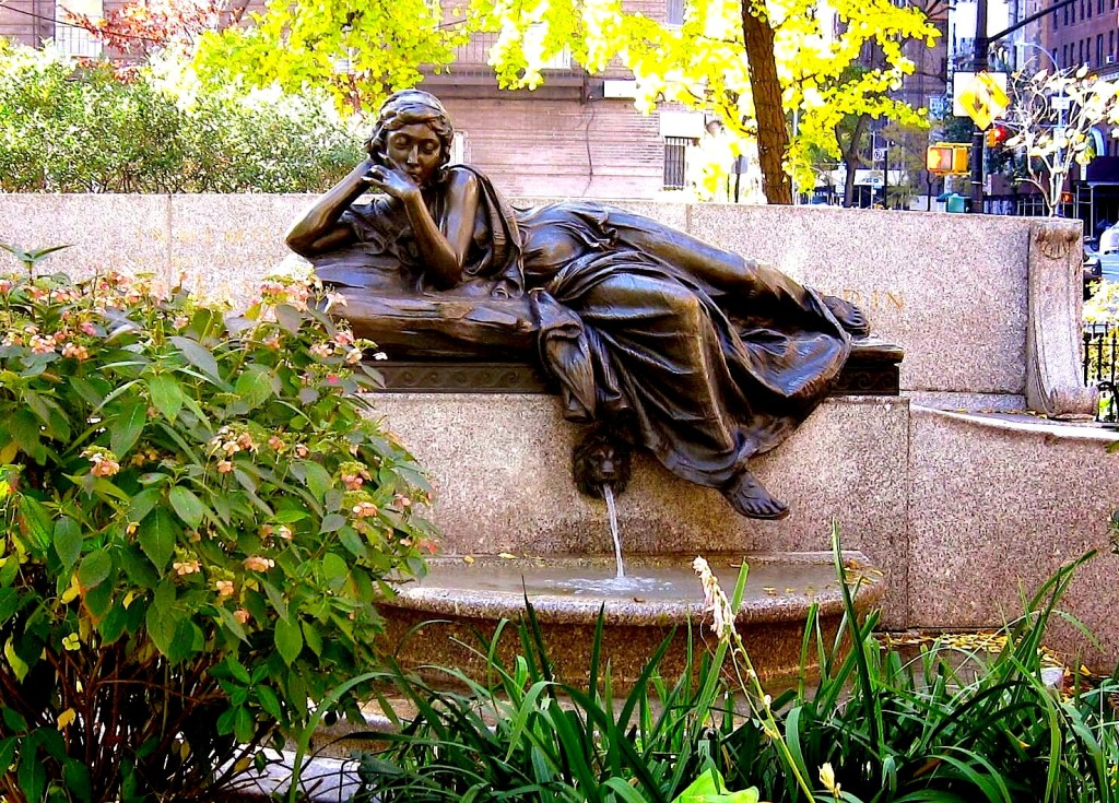 Isidor & Ida Straus memorial - (Upper West Side, Manhattan)