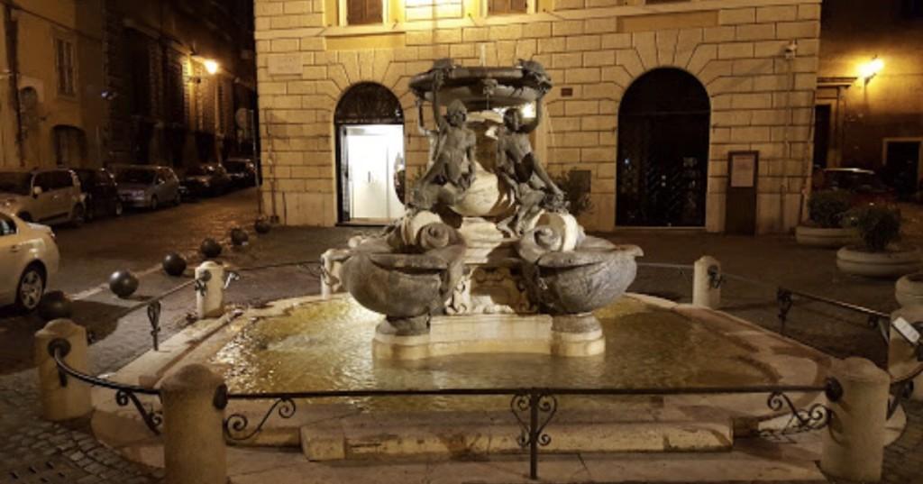 Fontana delle Tartarughe  - Piazza Mattei, Romë