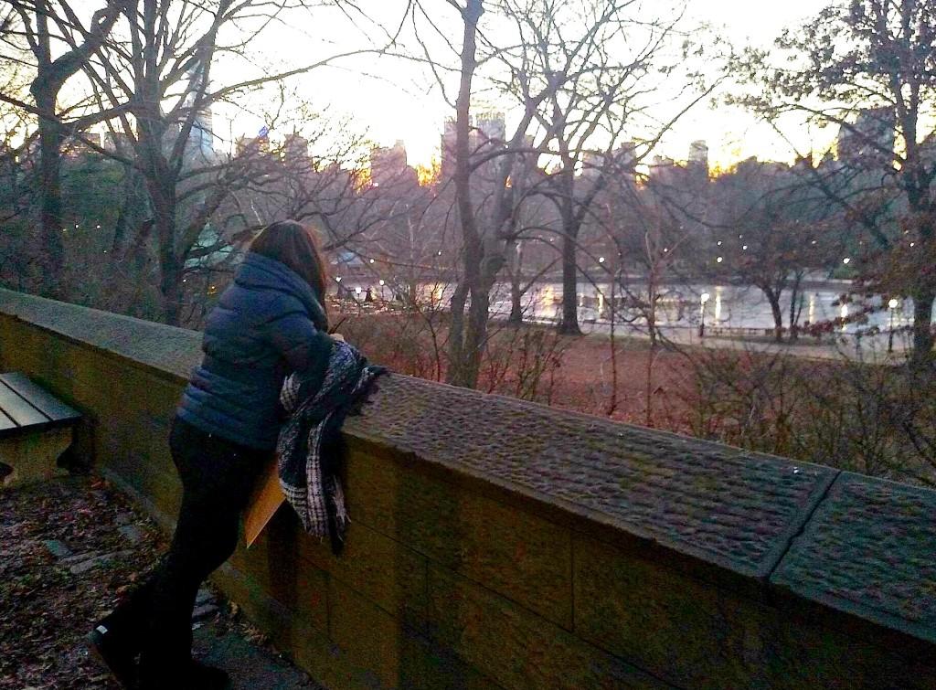 Hortensia Haxhiademi, Central Park, Manhattan