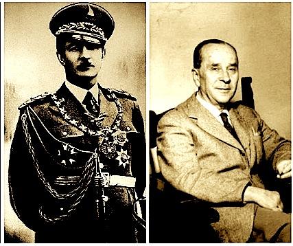 Ahmet Zogu & Eqrem Bej Vlora