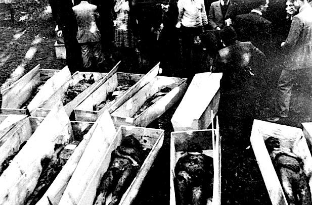 Kufoma te nxjerra nga Foibat