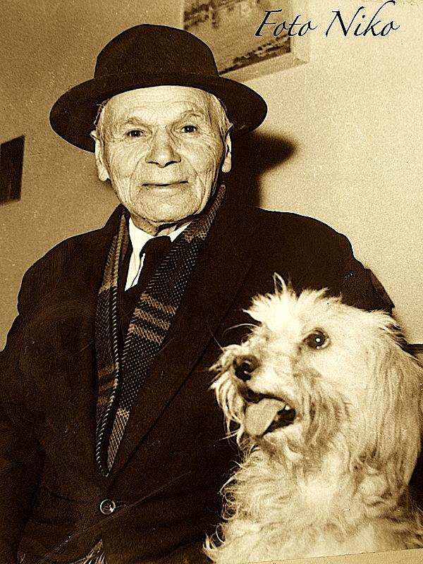 Lasgush Poradeci dhe qeni i tij Cuci