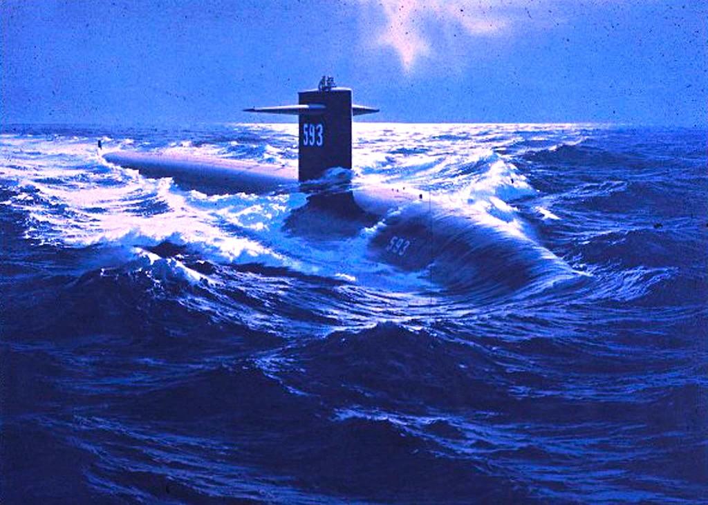 "Nëndetsja Bërthamore Amerikane ""USS Thresher"" (SSN-593)"