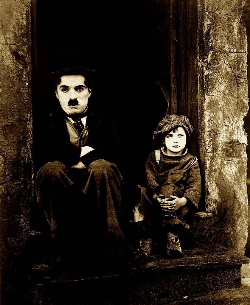 "Charlie Chaplin ""The Kid"""