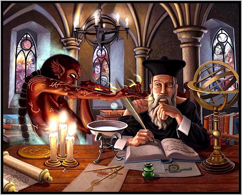 Njeriu i Profecive të Mëdha - Nostrodamus