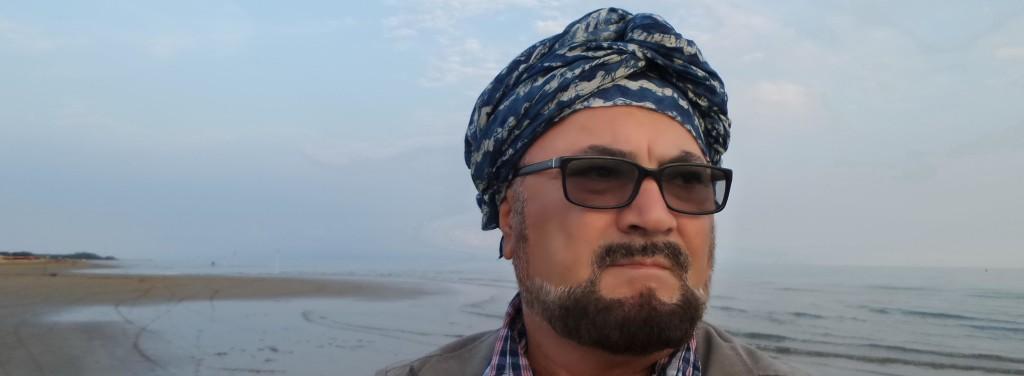 Shkrimtari Shpend Sollaku - Noé në Bibione.