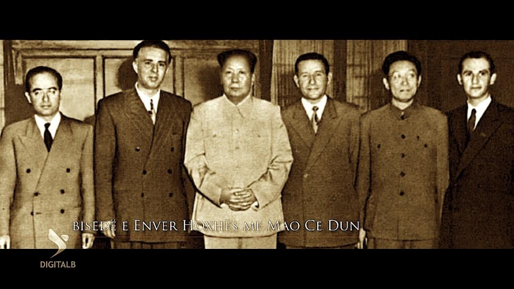 Kinezë dhe shqiptarë të Revolucionit Kulturor