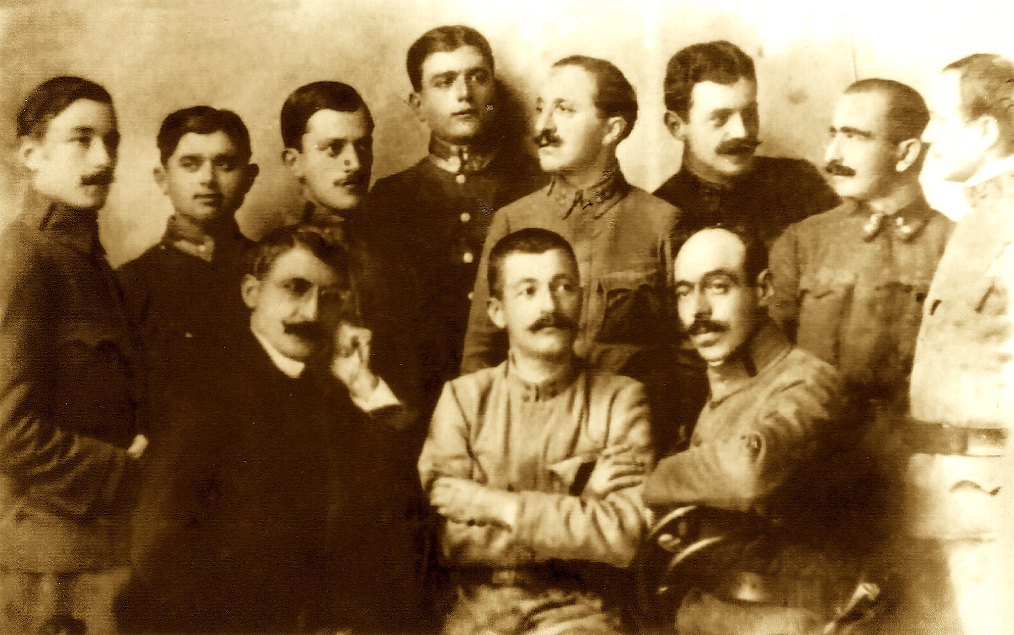 Oficerë shqiptarë në shërbim të Austro-hungarisë 1916