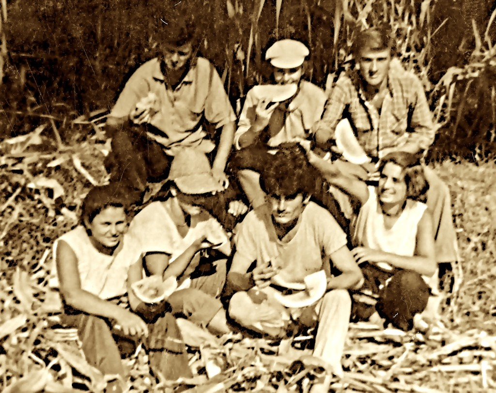 Studentë të Institutit të Shkodrës - Barbullush 1988