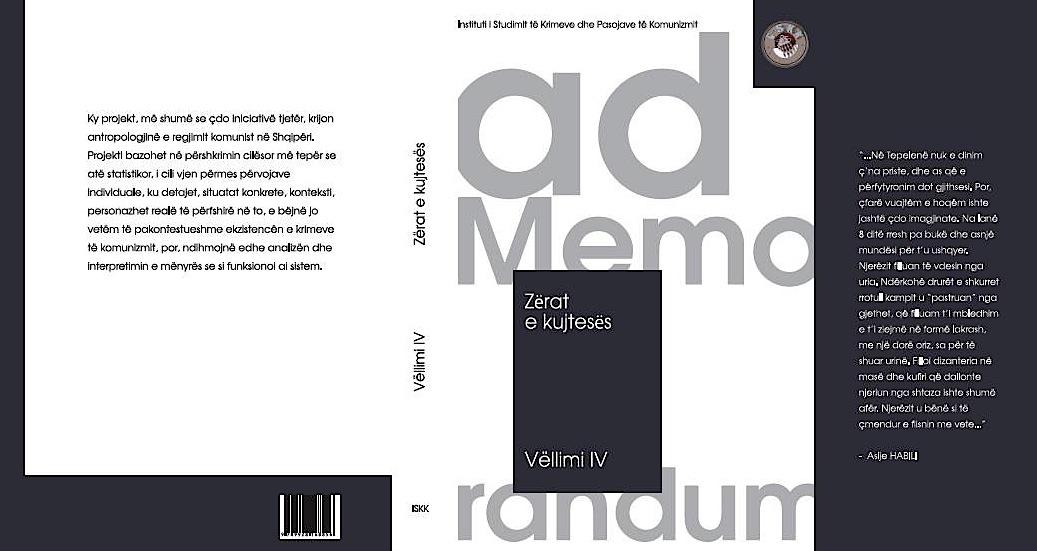 ISKK - Zërat e Kujtesës - Vëllimi IV