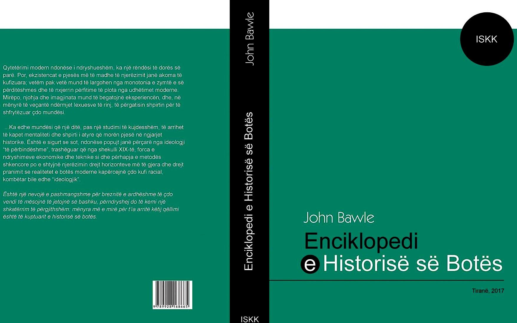 ISKK - Enciklopedia e Historisë së Botës - përkth. Lazër Radi