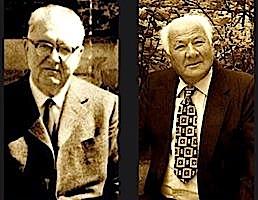 Ernest Koliqi dhe Lazër Radi
