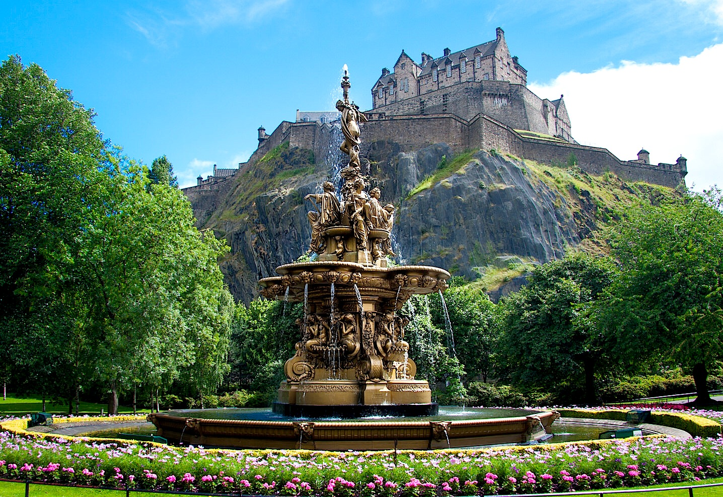 Ross fountain, Edinburgh