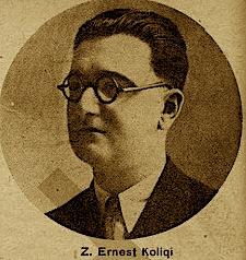 Ernest Koliqi në rini (foto Minerva)