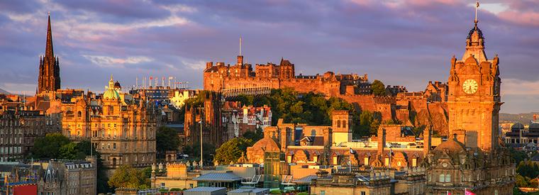 Pamje nga Edinburghu