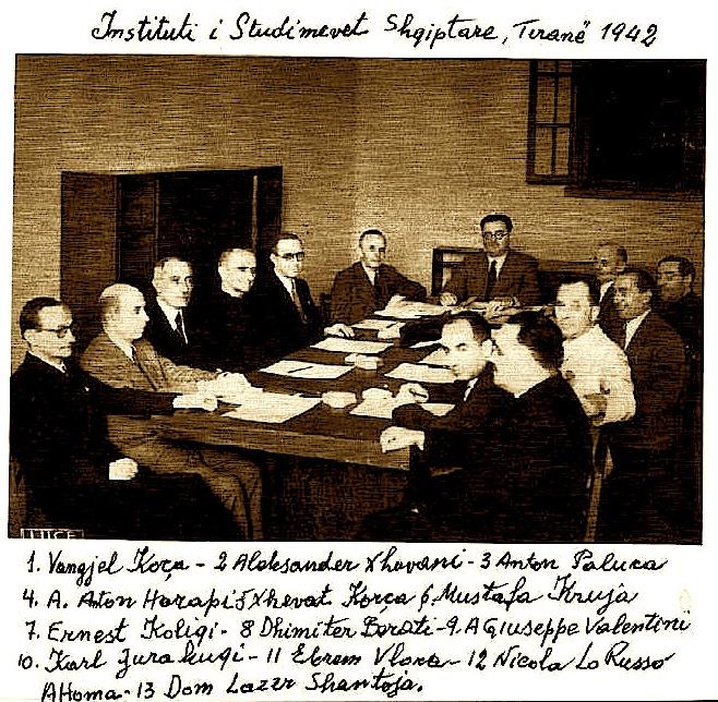 Instituti Shqiptar i Studimeve - Tirane 1942