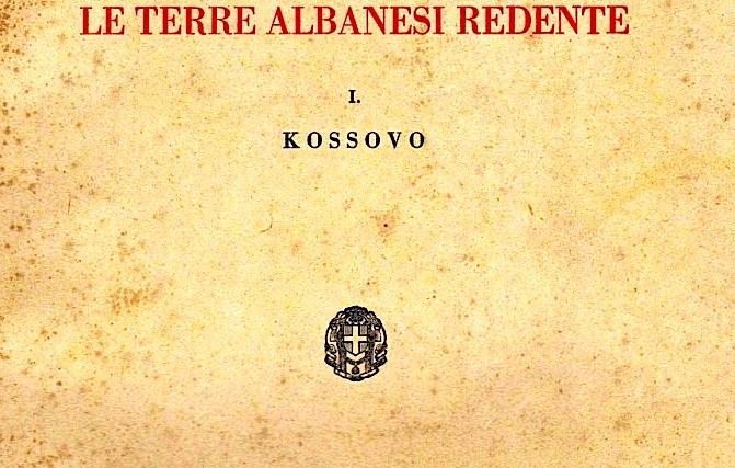 """Tokat Shqiptare - Kosova -""""Centro Studi per l'Albania""""  1942"""