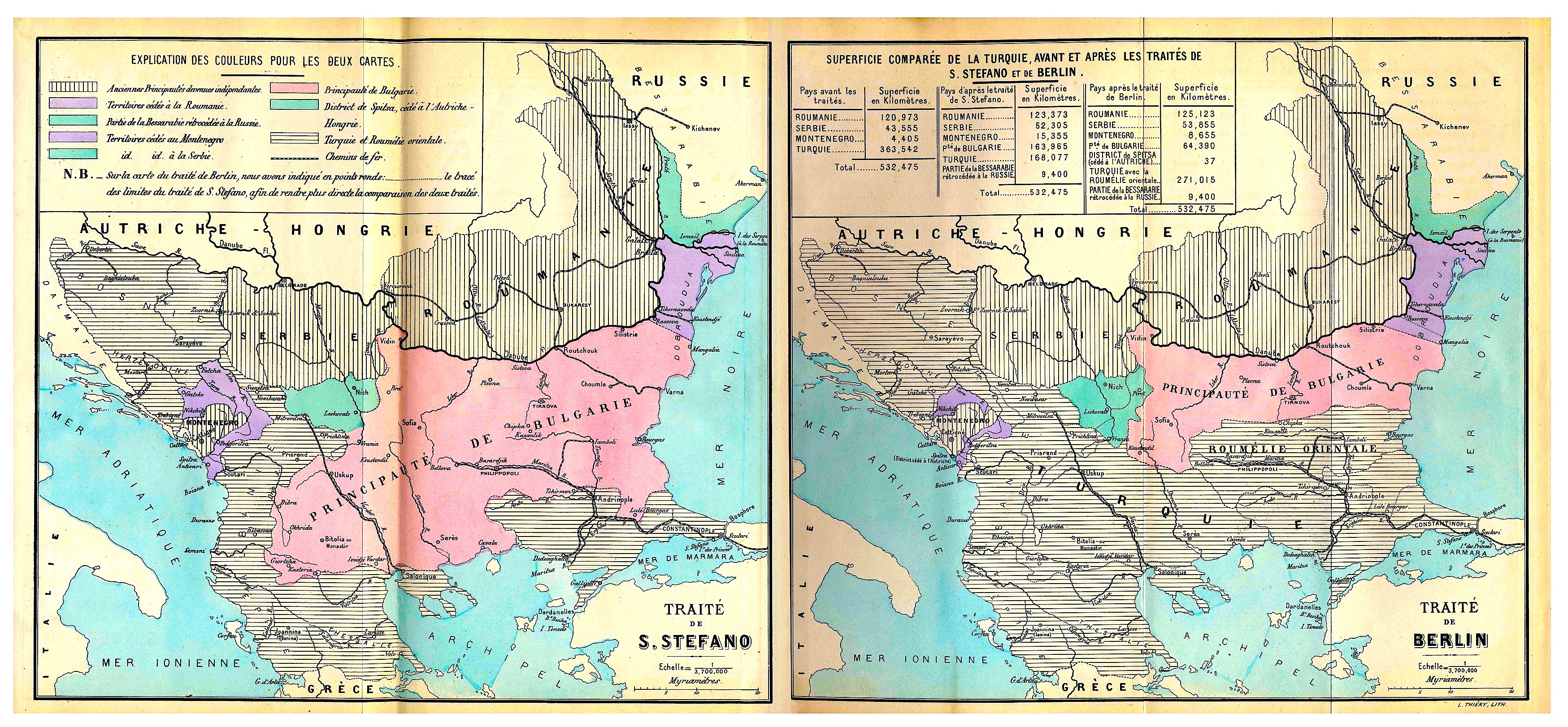 Hartat e San stefan Kongresit te Berlinit - 1878