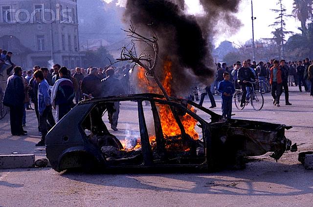 Ngajrjet e vitit 1997 në Vlorë