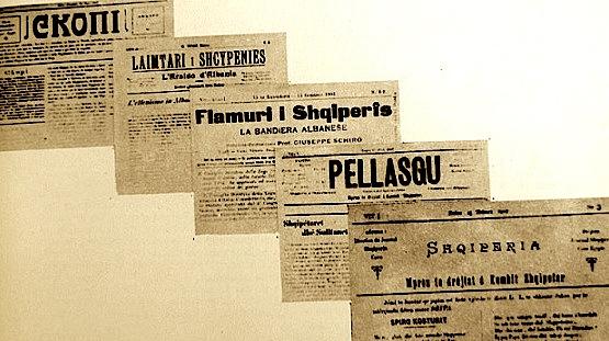 Gazeta te hershme shqiptare