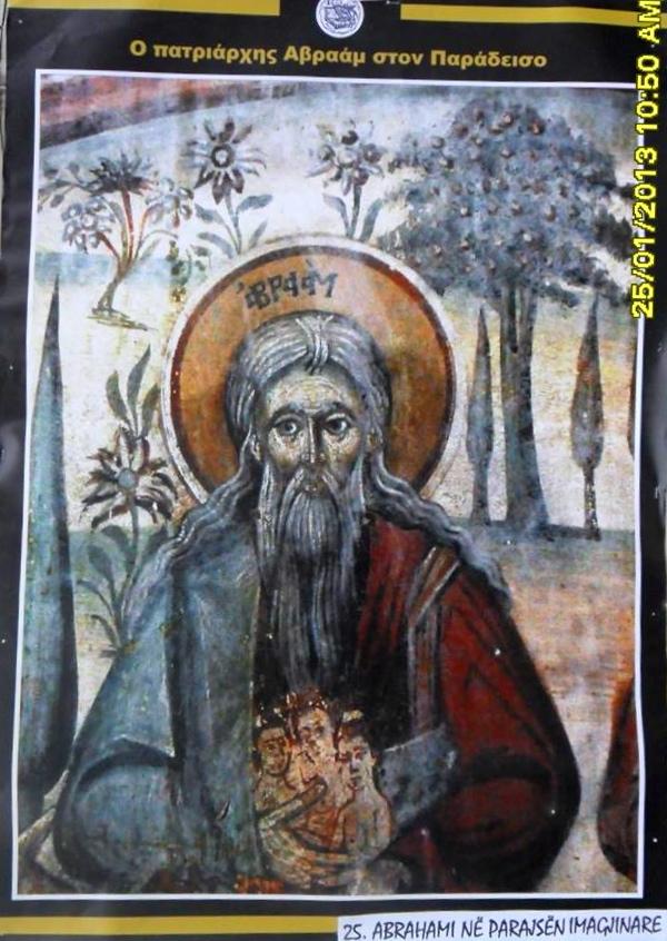 Abrahami në Parajsën imagjinare