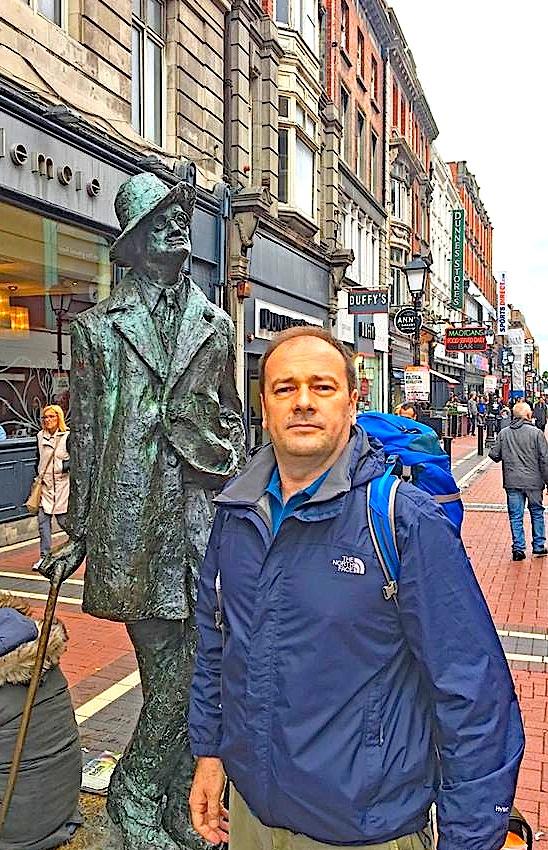 Në Dublin... me Xhojsin