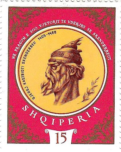 Filateli - 500 vjetori i Skënderbeut (1968)
