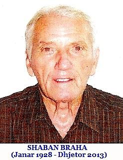 Shaban Braha (1928-2013)