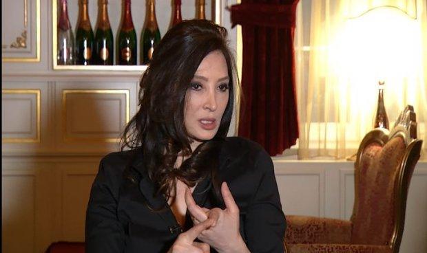 Ornela Vorpsi gjatë një interviste