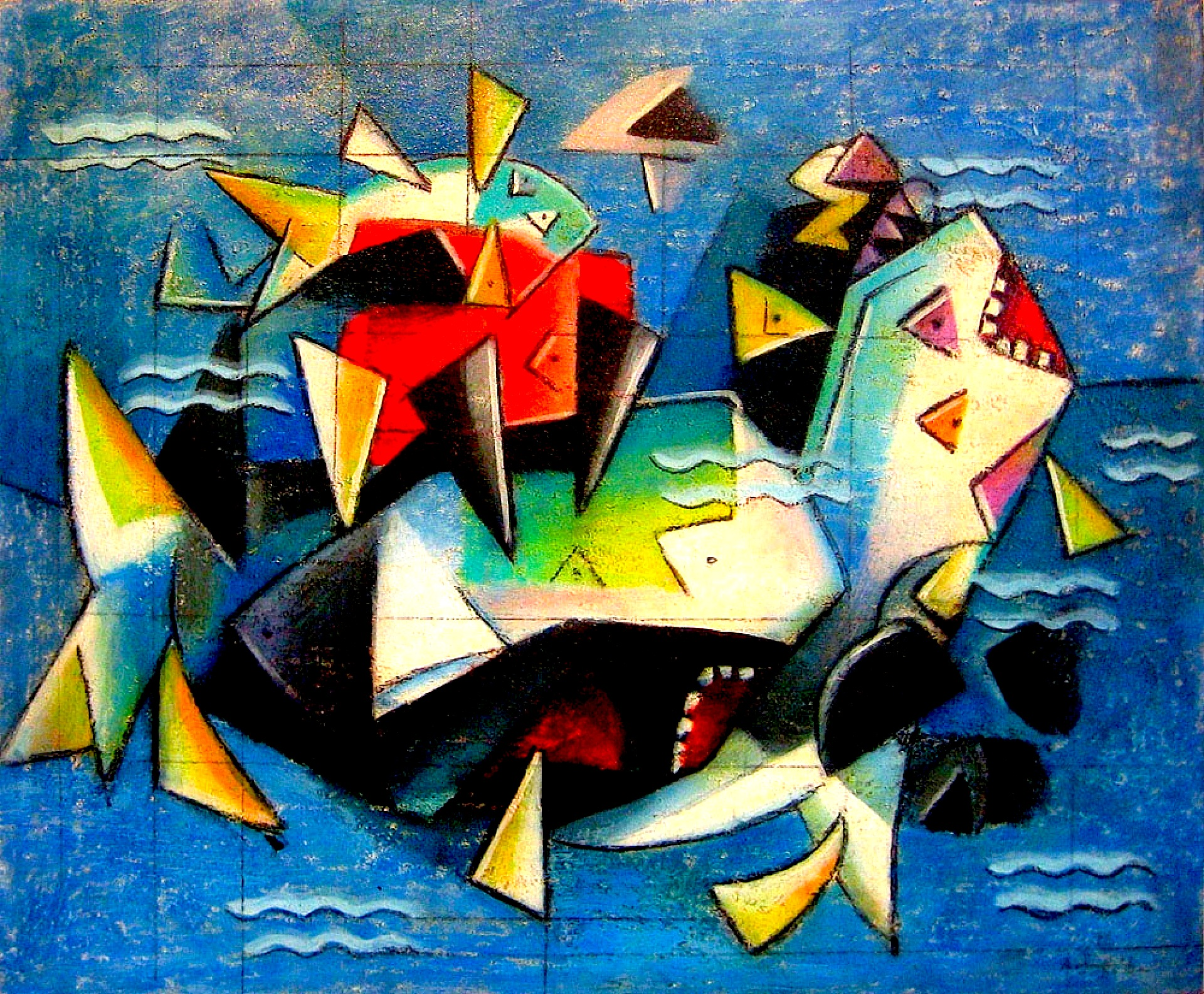 Ibrahim Kodra - Lufta e Peshkaqëneve